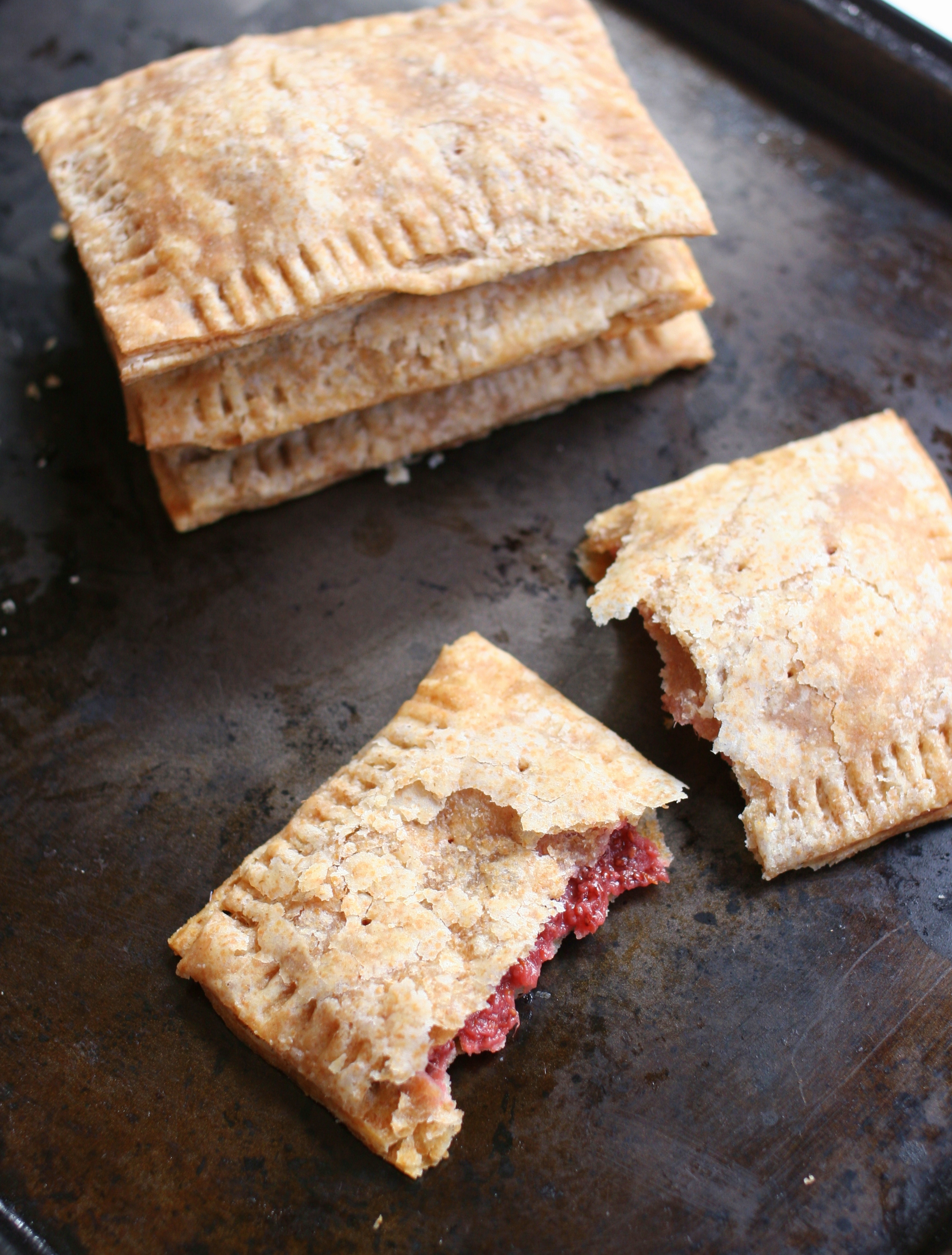 Homemade Whole Grain Pop Tarts + Easy Chia Jam | Hellobee