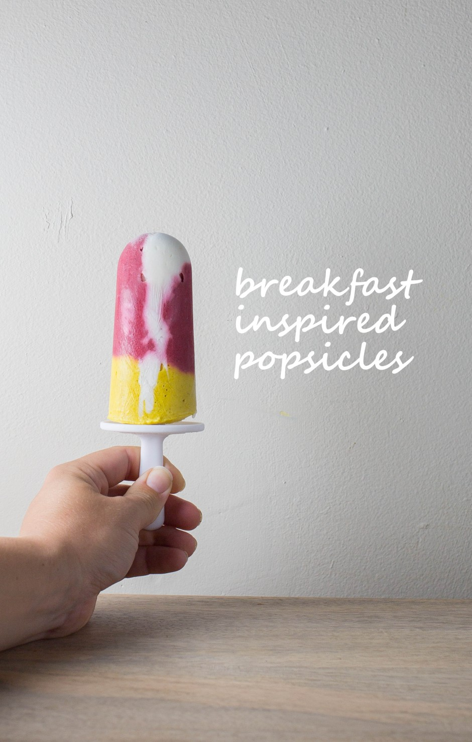 breakfast inspired popsicles l punctuated. with food